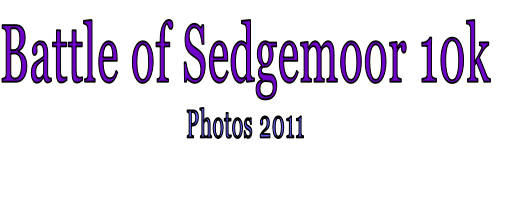 Battle of Sedgemoor 10k